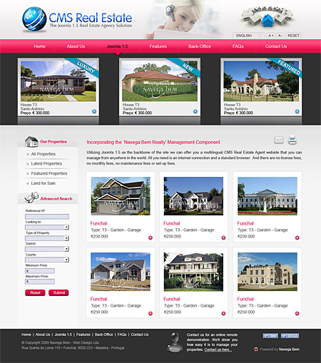 Good Cms Real Estate For Joomla
