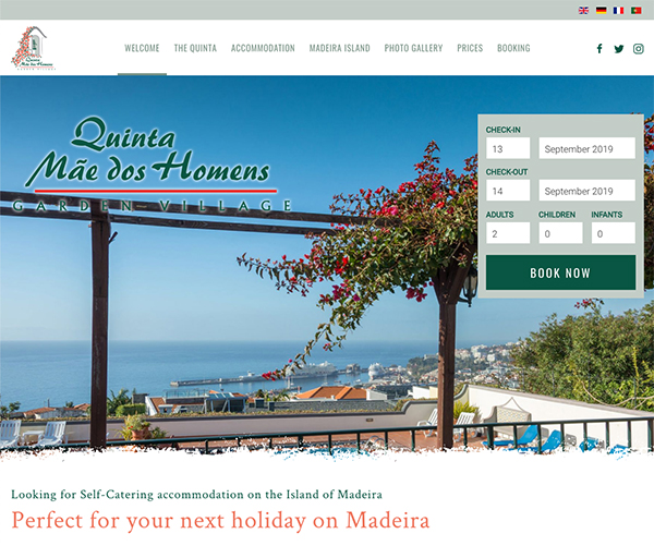 Self Catering accommodation Madeira