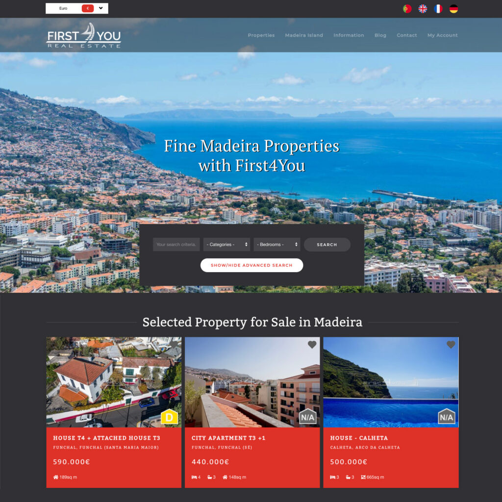 Firsts4You Property on Madeira island